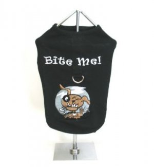 Sale Bite Me Harness-T Small Dog Shirt