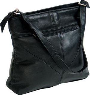 Ladies Lambskin Purse w/adjustable strap