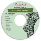 Vintage Retro Borders Images Clip Art Clipart CD
