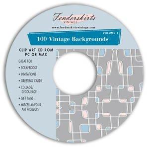 Vintage Backgrounds Clipart Clip Art CD