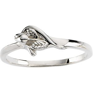 "Sterling Silver ""The Unblossomed Rose"" Ring"