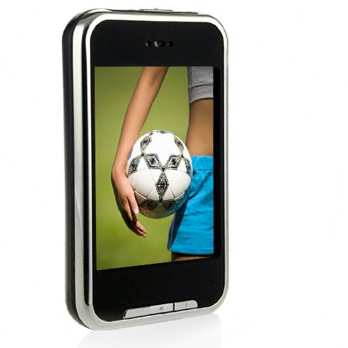 2.8 Inch 8GB touch screen mp4 player
