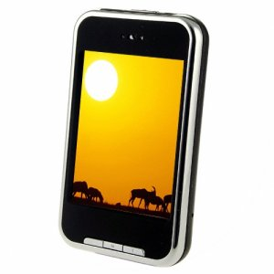 2.8 Inch 1GB high clear QVGA touch screen MP4; Support FM record