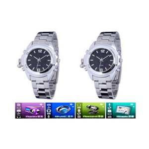 2GB BRAND NEW MP3 WATCH Li-ion charge battery,support MP3 ADPCM