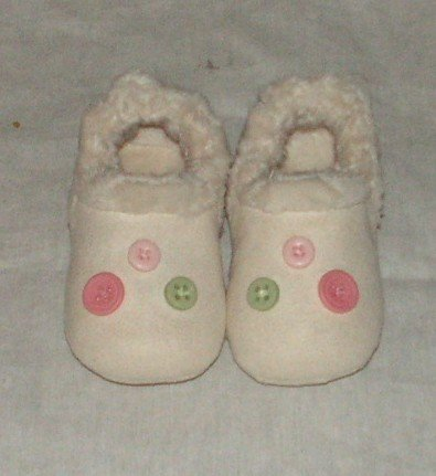 Gymboree Layette Grown With Love Crib Shoes sz 03