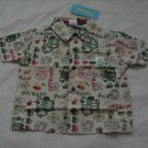 Gymboree Safari Adventure Camp Shirt 12-18 months