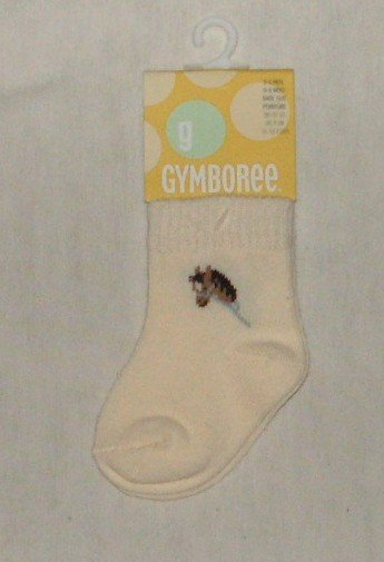 Gymboree Stick Horse Socks 0-6 months