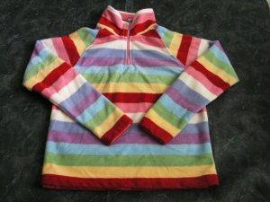 Gap Kids Fleece Striped Pullover sz 7-8
