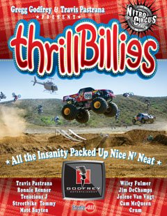 Travis and the Nitro Circus 5 - Thrill Billes - Motocross DVD
