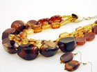 Brown Necklace Set