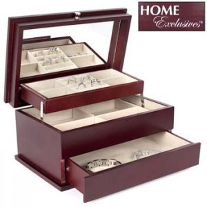 HOME EXCLUSIVES® EZ GLIDE JEWELRY BOX  L@@K at this!!