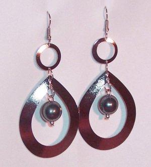 Pearl Teardrop Earrings