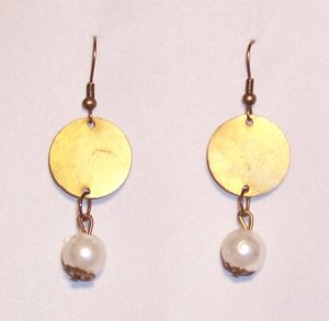 Grecian Medal Earrings