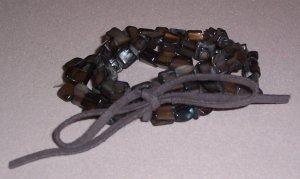 Gray Shell Bracelet