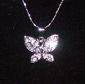 Butterfly Sparkle Necklace