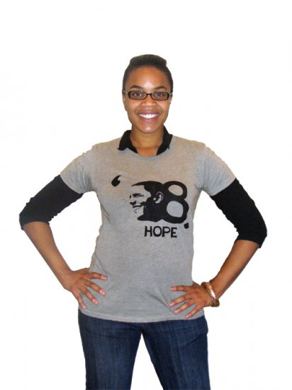Obama '08 Election Collectible HOPE T-Shirt