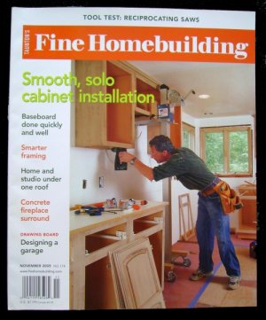 FINE HOMEBUILDING Magazine  #174 October/November 2005