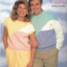 Patons KNITTING PATTERN  Pullover for Men and Women