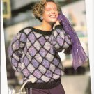 Patons KNITTING PATTERN  Women's Pullover