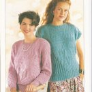Patons KNITTING PATTERN  Women's Sweater and Top in DK