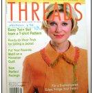 THREADS Magazine #108 Ottoman Jacket facing Fringe ++