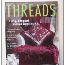THREADS Magazine #110 Velvet Applique Shawl Collars