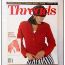 THREADS Magazine #48 Ribbing Knitted cardigan Hemstitch