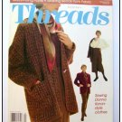 THREADS Magazine #54 Donna Karan Boucle knitting Beads