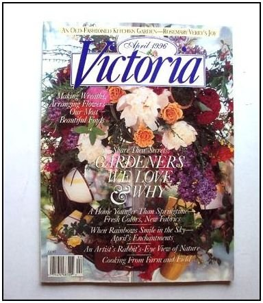 VICTORIA MAGAZINE 10/4 April 1996 Vol 10 No 4