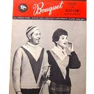 VINTAGE 1959 KNITTING PATTERN Campus Sweater
