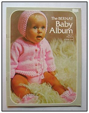 Knitting Crochet Book 13 PATTERNS - BABY Dresses Hats Bootees Legging