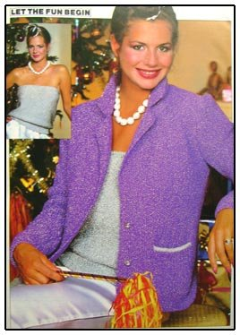 MON TRICOT Knitting Pattern Book 30 Designs