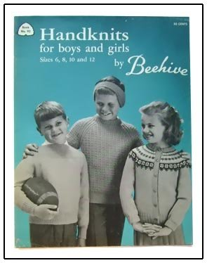 Vintage KNITTING Patterns CHILDREN 6-12 Skating Skirt +