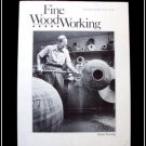 1983 FINE WOODWORKING Magazine #41 Turning Giant Bowls Ax Handles Moldings ++