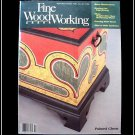 1984 FINE WOODWORKING Magazine #48 Tambours Painted Chests Edge Joining ++