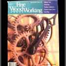 1986 FINE WOODWORKING Magazine #56 Wooden Clockworks Benches Coopering Turning +