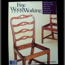 1986 FINE WOODWORKING Magazine #60 Chippendale Chair Mortising Jigsaw Puzzles ++