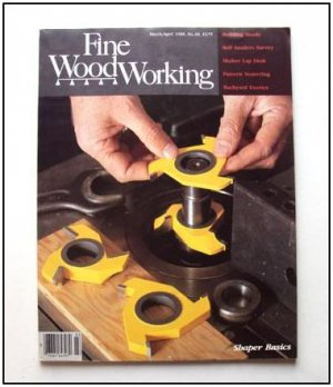 1988 FINE WOODWORKING Magazine #69 Lap Desk Turned Pens Shapers Building Stools