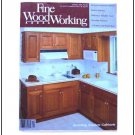 1990 FINE WOODWORKING Magazine #84 Kitchen Cabinets Doel Joinery Display Case ++