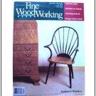 1992 FINE WOODWORKING Magazine #97 Captain's Bed Bracket Feet Tablesaw ++