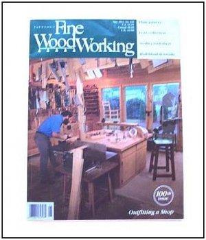 1993 FINE WOODWORKING Magazine #100 Plate Joinery Half-blind Dovetails Workshop