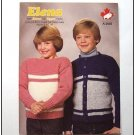 Elena Lopi KNITTING PATTERN Child Pullover or Cardigan ... ECL7