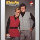 Elenka Lopi KNITTING PATTERN His Her Cabled Vest  ... ECL23