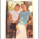 KNITTING Patterns SUMMER SLEEVELESS TOPS Stripes Lace Motif