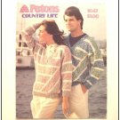 KNITTING Pattern V-NECK SWEATER for Men Women