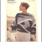 KNITTING Pattern ABSTRACT DESIGN SWEATER