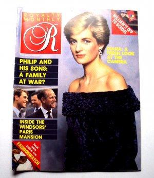 1987 ROYALTY Magazine Vol 6/6 Princess Diana Duke Duchess Windsor Apartment ++