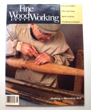 1995 FINE WOODWORKING Magazine #113 Sheraton Bed HaIl Table Mortise-and-Tenon