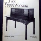 1978 FINE WOODWORKING Magazine #12 Tambour Scandinavian Styles Spindle Turning