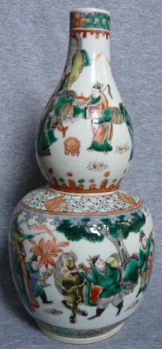 China Qing Dynasty Guangxu time wucai china calabash